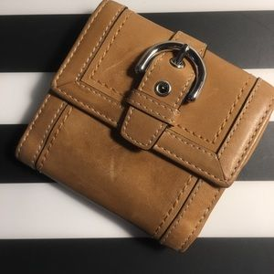 Tan COACH Wallet